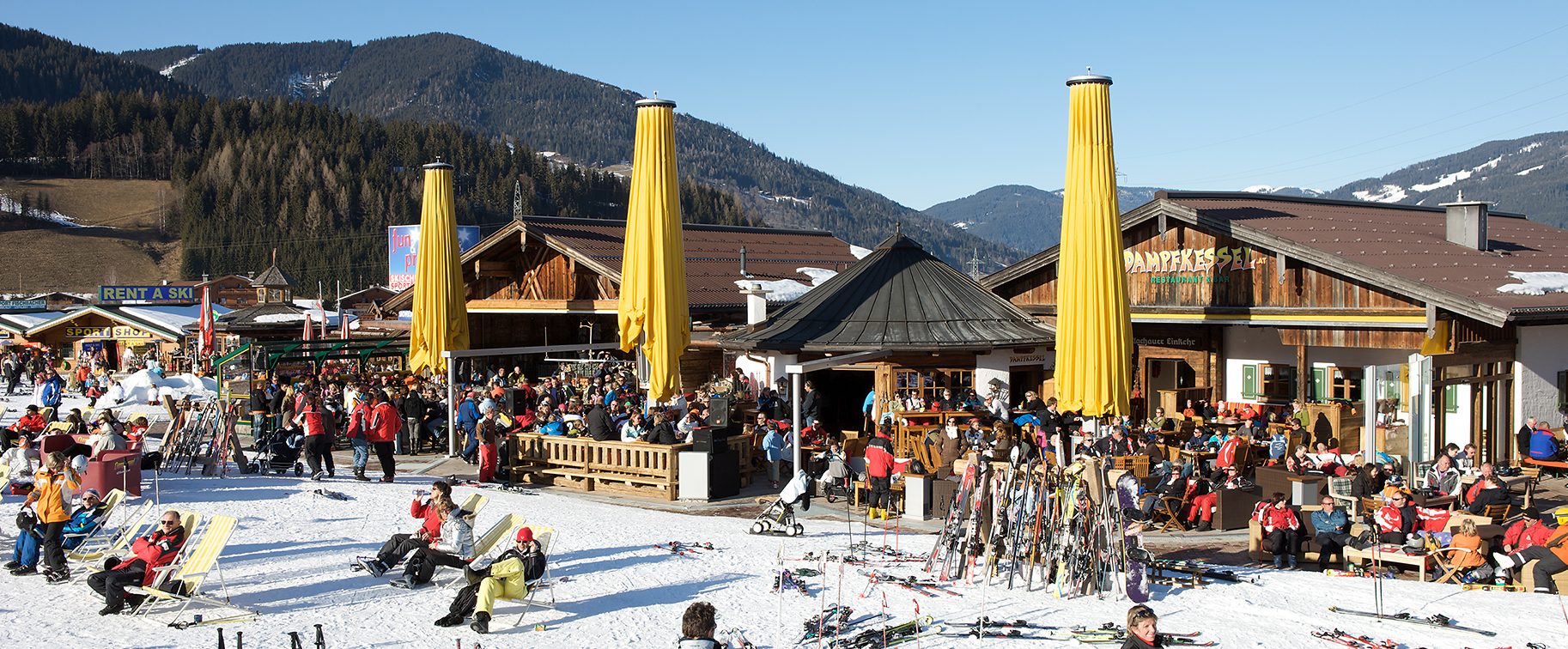 Best Practice - From a sun patio to an après ski restaurant at the ...